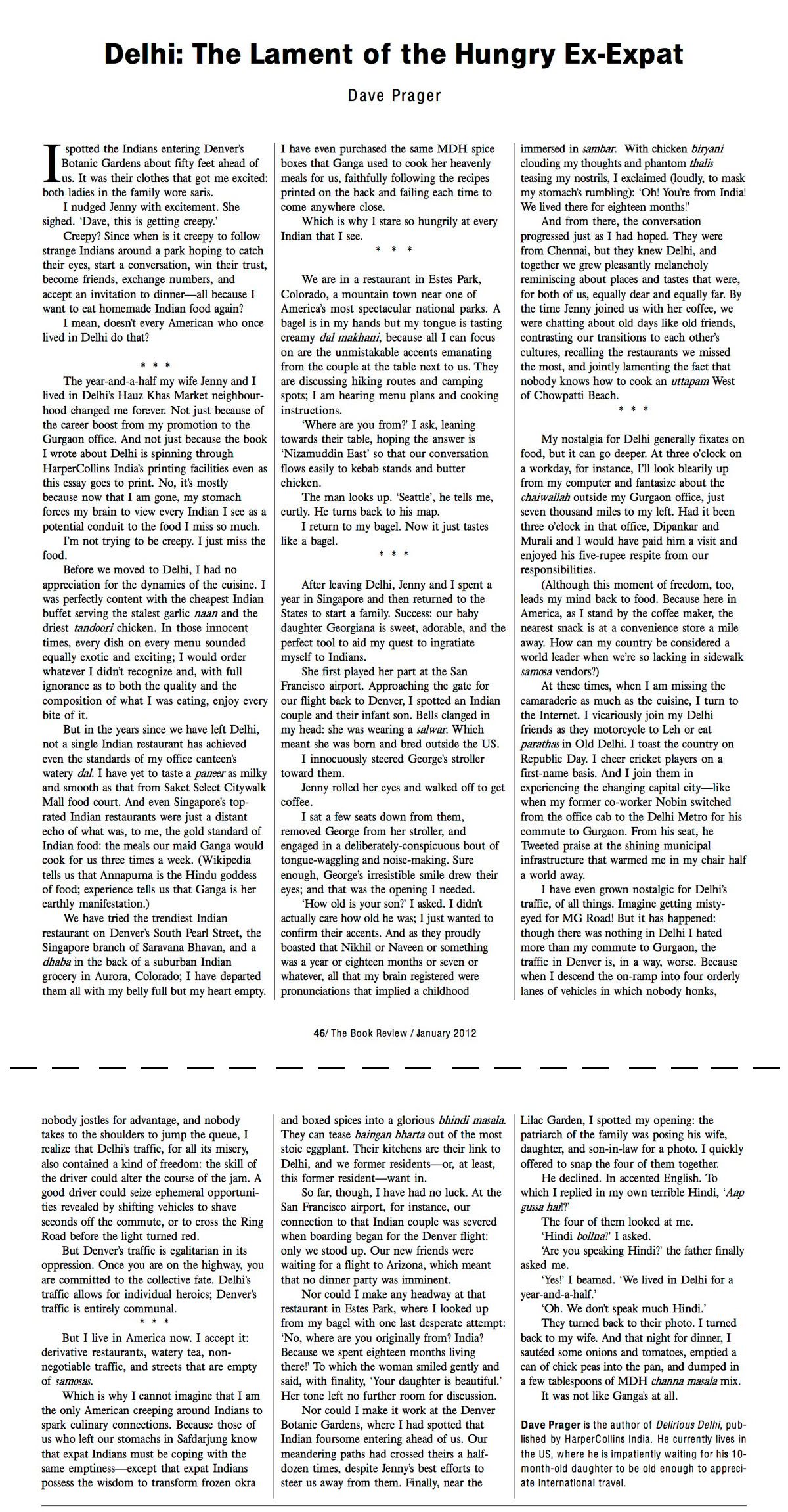 delhi the lament of the hungry expat my essay from the book click for bigger version